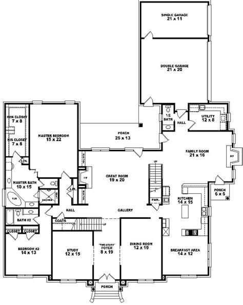 6 bedroom house plans luxury luxury style house plans 5120 square foot home 2 story 6 bedroom and 5 bath 3 garage