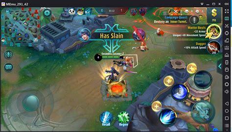game reviews mobile legends bang bang memu android