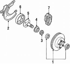 Ford Ranger Disc Brake Caliper  Components  Suspension