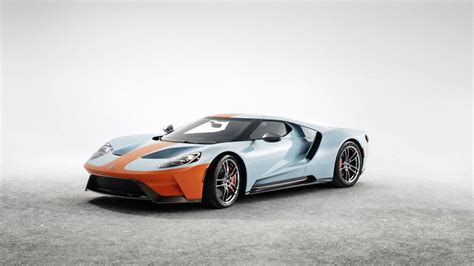 2019 Ford Gt by 2019 Ford Gt Heritage Edition Orange And Blue Is The New