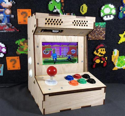 build arcade cabinet kit diy arcade cabinet kits more porta pi arcade kit