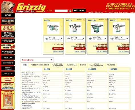 grizzly announces tent sale  locations woodworking