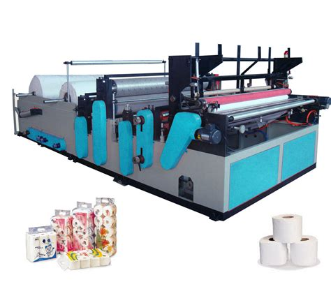 china full automatic small toilet tissue paper making