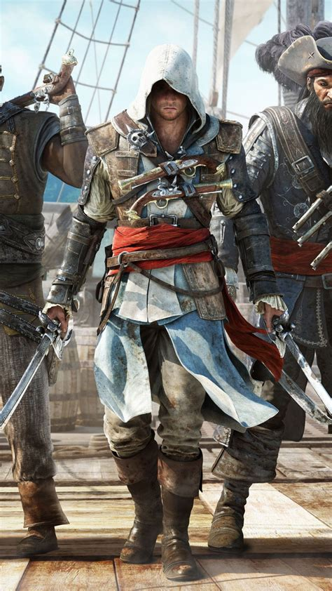 Create and share your own ringtones and cell phone wallpapers with your friends. Assassins Creed 4 Black Flag HTC One wallpaper