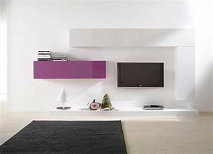 Console Murale Suspendue : ensemble tv mural suspendu city v achatdesign l gant ~ Premium-room.com Idées de Décoration