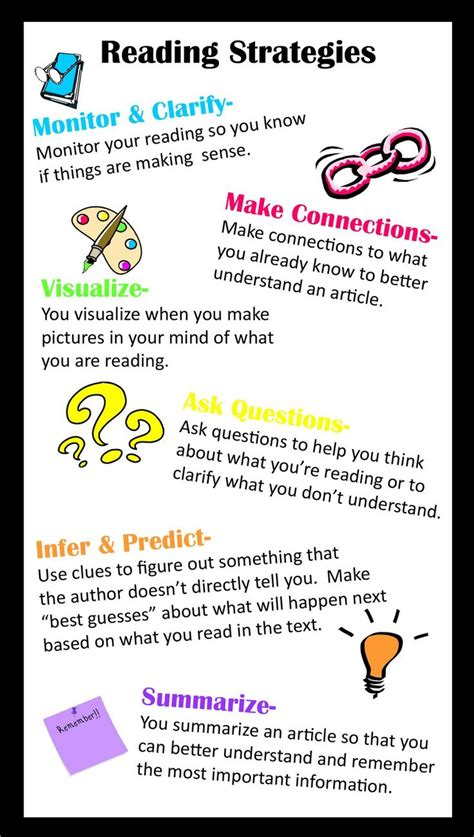 Best 25+ Reading Strategies Ideas On Pinterest  Reading Comprehension Strategies, Comprehension