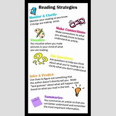 Reading Strategies Poster Using Vistaprint  Be A Good Reader  Reading Strategies Posters