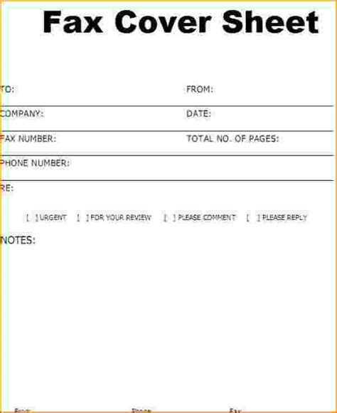 How To Write A Cover Sheet For A Resume by 4 Free Fax Cover Letter Teknoswitch