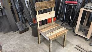Pallet Wood Chair www pixshark com - Images Galleries