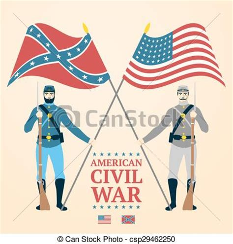 american civil war illustration southern  northern