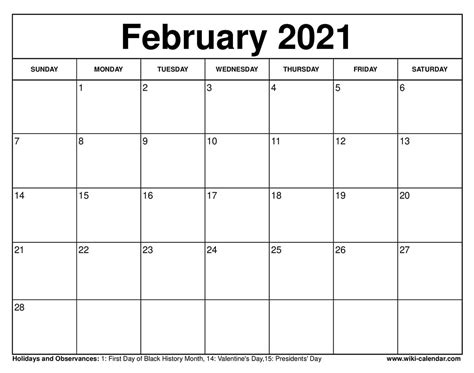(f) chinese new year 12 feb 2021 (fri) 13 feb 2021 (sat). Free Printable February 2021 Calendars