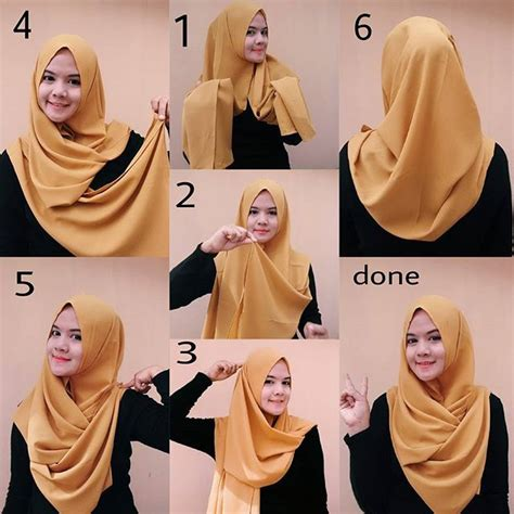 folded chest coverage hijab tutorial hijab tutorials