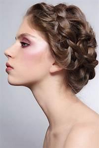 Coiffure Simple Femme : coiffure tresse facile cheveux mi long coiffure simple et facile ~ Melissatoandfro.com Idées de Décoration