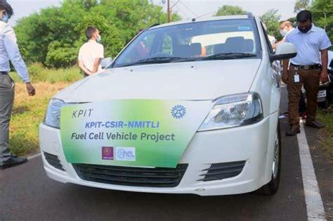 CSIR, KPIT successfully test India's first hydrogen fuel ...