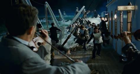 Titanic Movie Boat Sinking Scene by Titanic 3 D Review Vegan Cinephile
