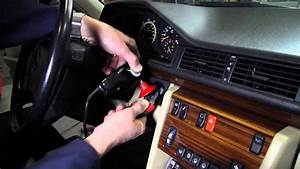 How To  U0026quot Unstick U0026quot  A Stuck Ignition Key On A 1973 To 1995 Mercedes Benz