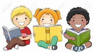 Children studying clipart - Clipart Collection | A vector ...