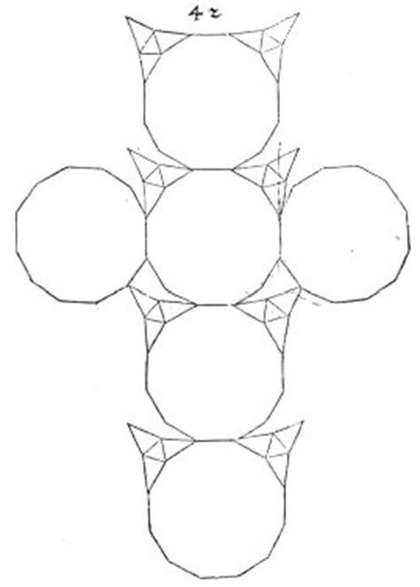Sphere Net Template by Durer S Polyhedra
