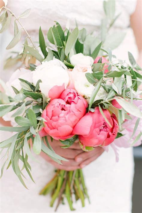 Blush Coral Downtown Columbus Wedding Wedding Bouquets