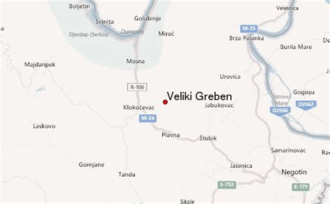 veliki greben mountain information