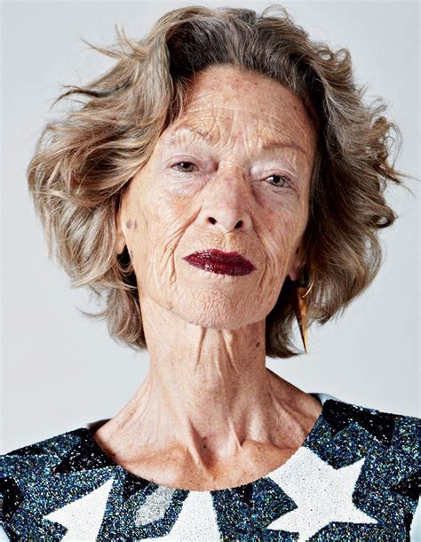 ageless beauty 72 year old loulou van damme