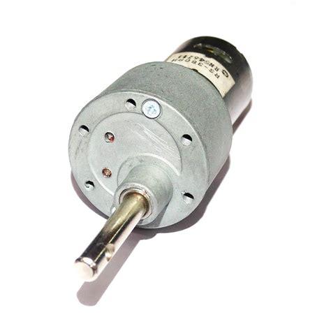 rpm johnson geared motor high torque motor base motor rpm  gear material metal
