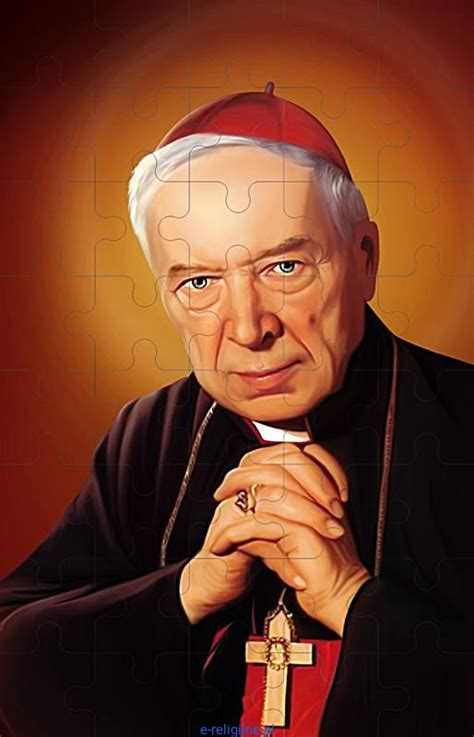 Wyszyński definition, polish roman catholic clergyman: Puzzle kardynał Stefan Wyszyński