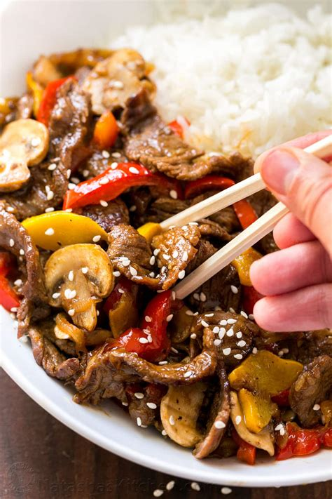 beef stir fry recipe with 3 ingredient sauce natashaskitchen