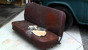 1956 Chevy Truck Seat Reupholstered Part 1