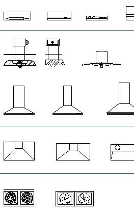 Autocad Kitchen Blocks
