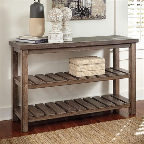 distressed sofa console table console tables table top trends  styles wood sofa table
