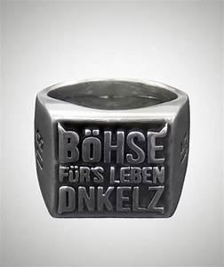 Böhse Onkelz Aufkleber : siegelring b hse f r s leben ~ Jslefanu.com Haus und Dekorationen