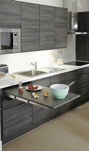 Table Cuisine Petit Espace : 6 astuces rangement et gain de place dans une petite cuisine ~ Teatrodelosmanantiales.com Idées de Décoration