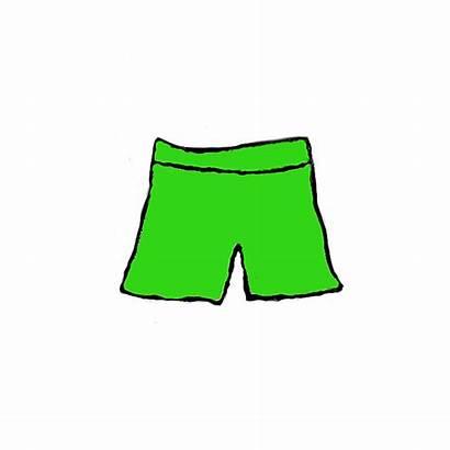 Shorts Clipart Clip Short Swim Clothes Cliparts