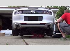 2013 Ford Mustang ROUSH Performance Axleback Exhaust