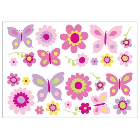 Fun4walls Butterfly Garden Wall Stickers Stikarounds