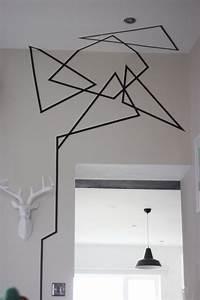 Best washi tape wall ideas on