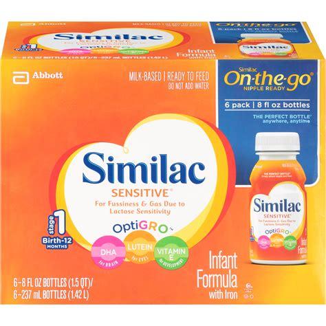 Similac Sensitive Earlyshield Infant Formula Milk Powder 34 Oz