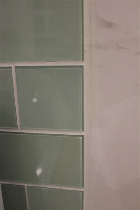 Cutting Schluter Tile Edging by Subway Tile Backsplash Newjersey Oldhouse