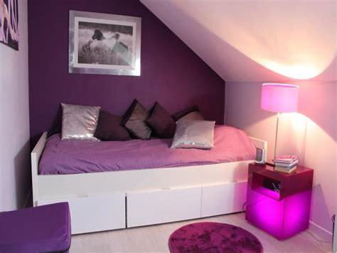 d o chambre violet gris j 39 aime la disposition je n 39 aime pas le lit cheap les