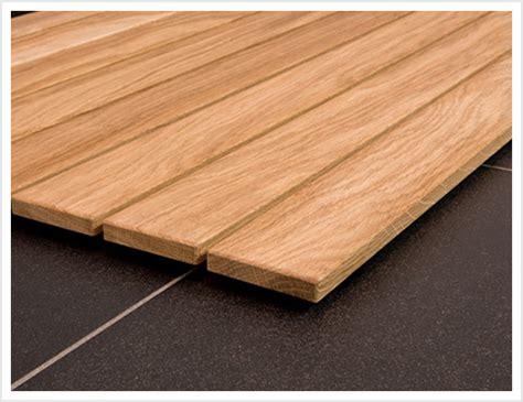 Nach Maß Holz by Holz Badvorleger Abthei Eiche Nach Ma 223 Relaxversand
