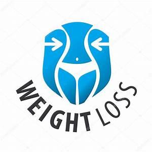Vector logo weight loss, waist — Stock Vector ...