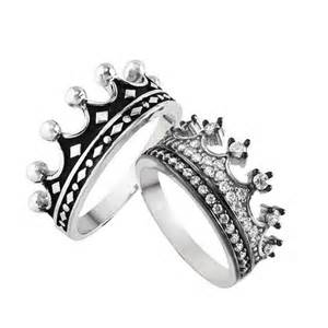 matching wedding ring sets bague king couronne bague sertie anneau couronne or