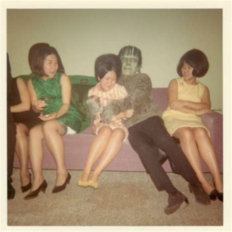 Amusing Polaroid Snapshots Of A Wild Halloween Party From