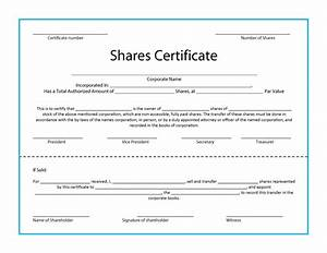 41 free stock certificate templates word pdf free With share certificate template australia