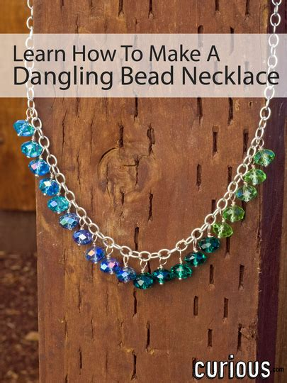 necklace bead dangling jewelry beaded