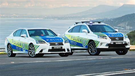 nsw police  luxury lexus hybrids car news carsguide