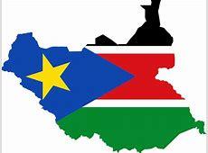 Image vectorielle gratuite Sud Soudan, Drapeau, Carte