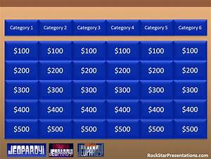 jeopardy powerpoint templates free download images With free jeopardy template with sound