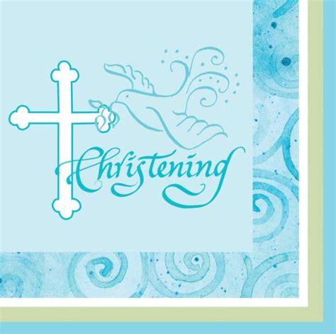 baby napkins blue christening napkins 16s non stop shop